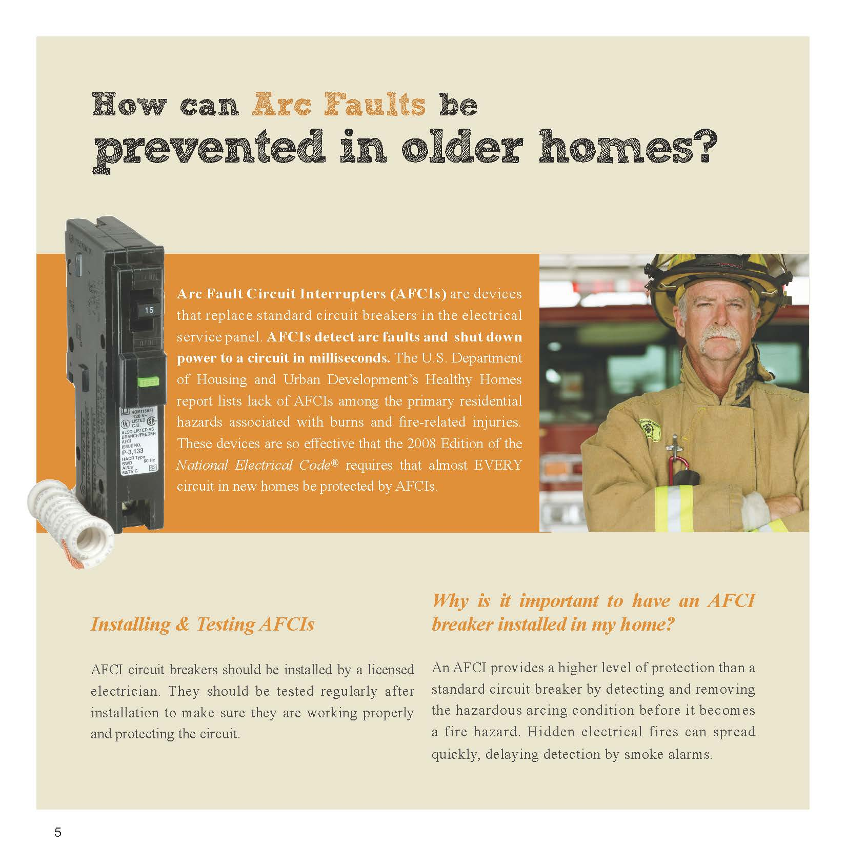 Esfi Know The Dangers In Your Older Home Power And Light Company Article At How To Install Test Afcis Afci Circuit Breakers Post Navigation